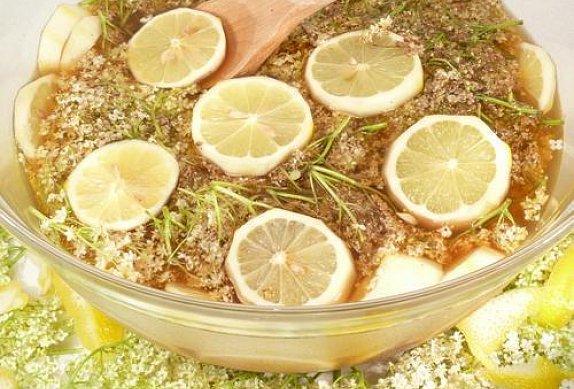 Míchaná bezinková limonáda photo-0