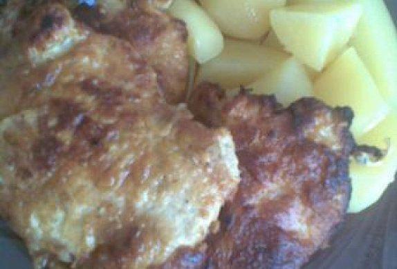 Kuřecí maso v česnekovém těstíčku
