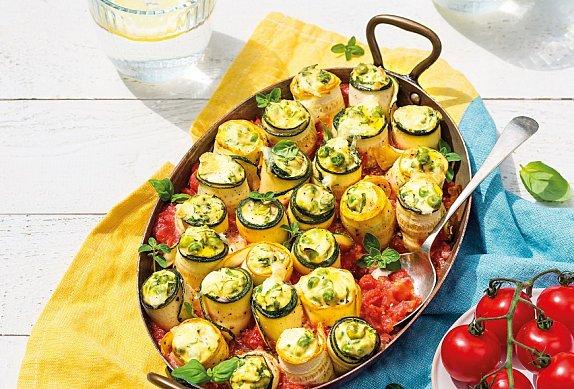 Cuketové cannelloni s ricottou