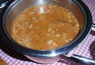 Falešná dršťková polévka z hlívy ústřičné