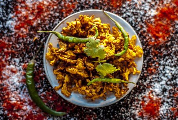 Cibulové bhaji