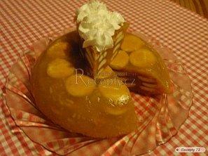 Nepečený jablkový dort
