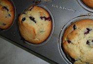 Borůvkové muffiny - rumové