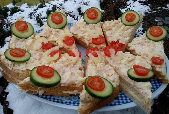 Sýrovo-šunková pomazánka