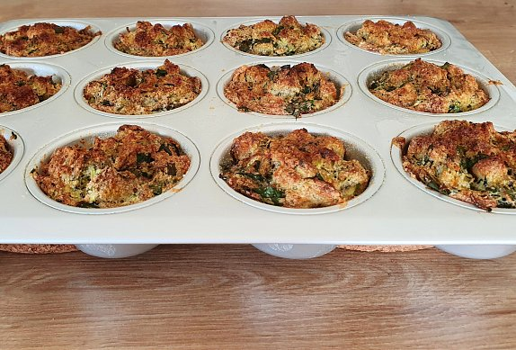 Jarní nádivkové muffiny