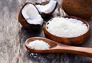 Kokosové cukroví tlačené strojkem