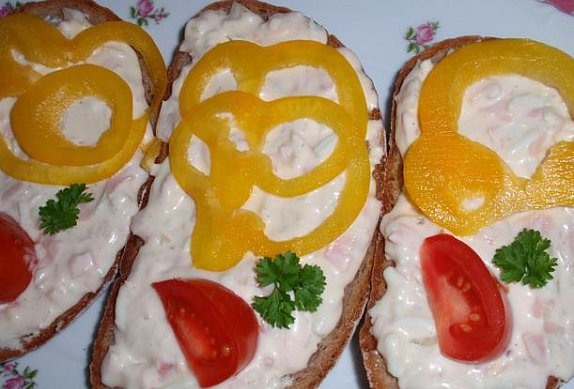 Sýrovo-vaječná pomazánka