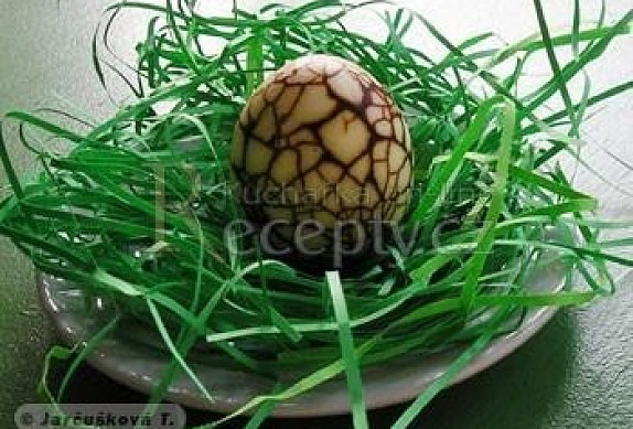 Mramorovaná vejce
