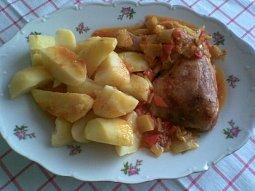 Kuřecí na zelenině