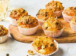 Čedarové muffiny