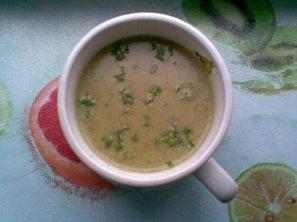 Krémová kapustovo-sýrová polévka