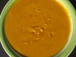 Dýňovo-zelná polévka