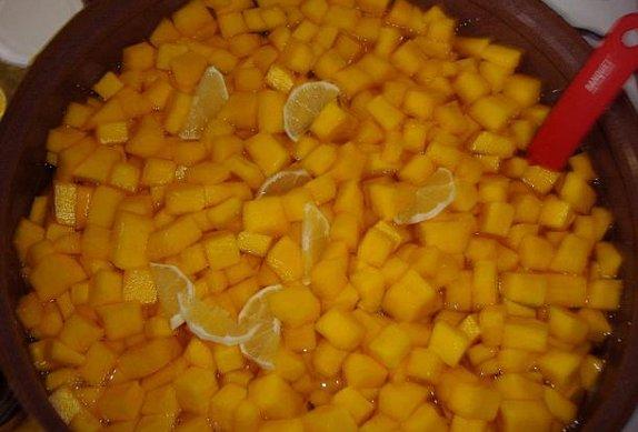 Můj dýňový kompot s ananasem