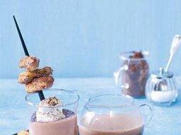 Mandlové kakao se smaženkami