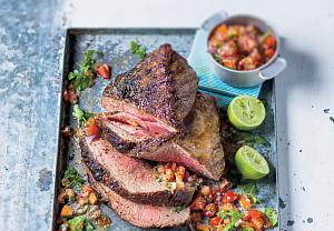 Grilovaný Rump steak