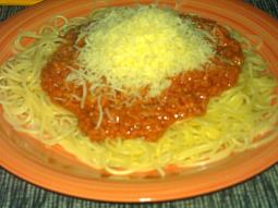 """Omáčka """"šufrung"""" na špagety"""