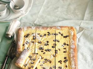 Kynutý koláč s tvarohem