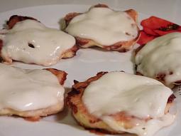 Kuřecí placky s mozzarellou (DUKAN)